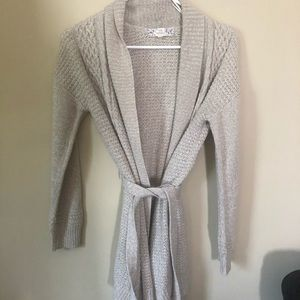Tan Tie Sweater